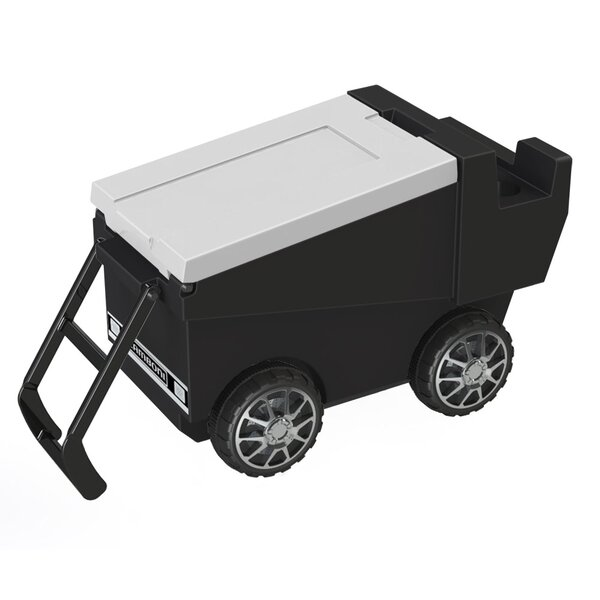 30 Qt. Zamboni Rolling Cooler by C3 Custom Cooler