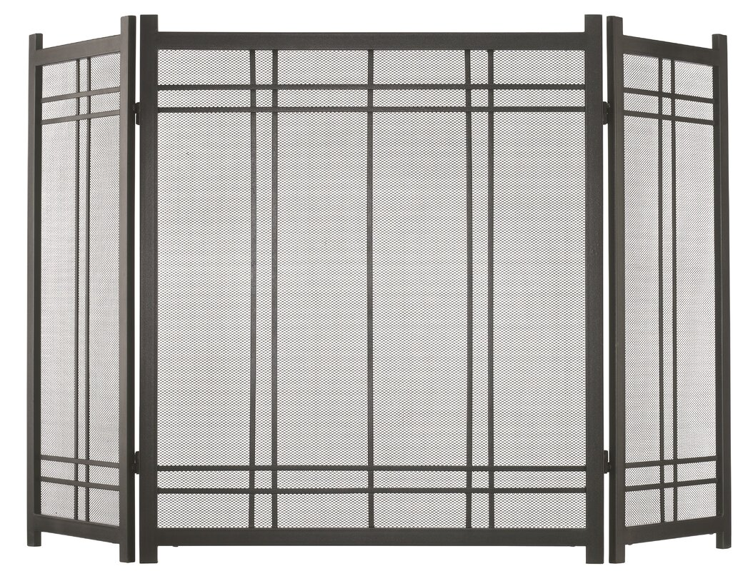 black fireplace screen image collections home fixtures