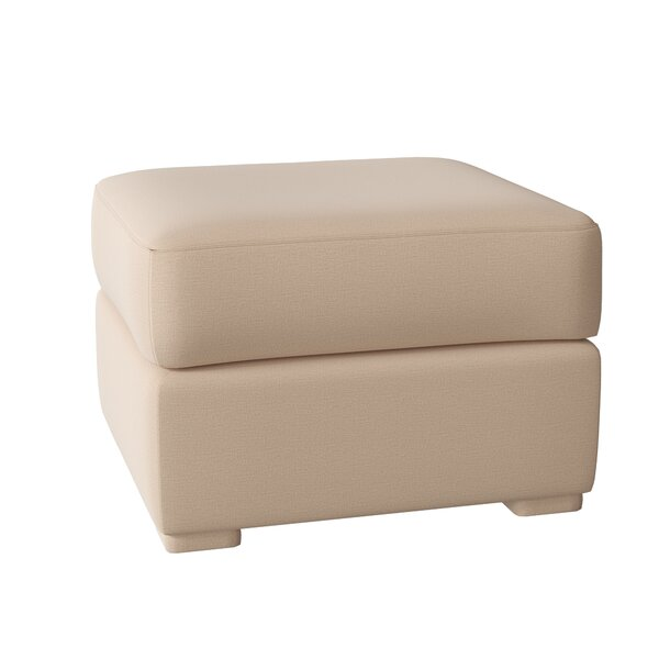 Prescott Ottoman by Omnia Leather