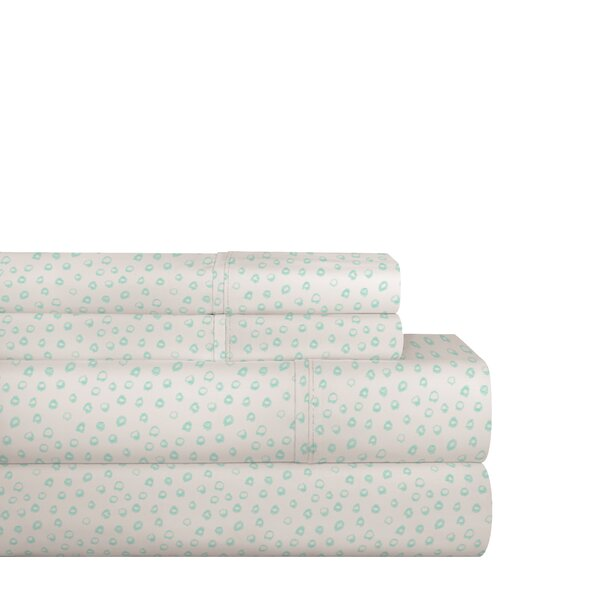 200 Thread Count Cotton Sheet Set by Lullaby Bedding