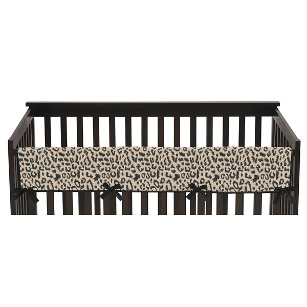 Animal Safari Long Crib Rail Guard Cover by Sweet Jojo Designs