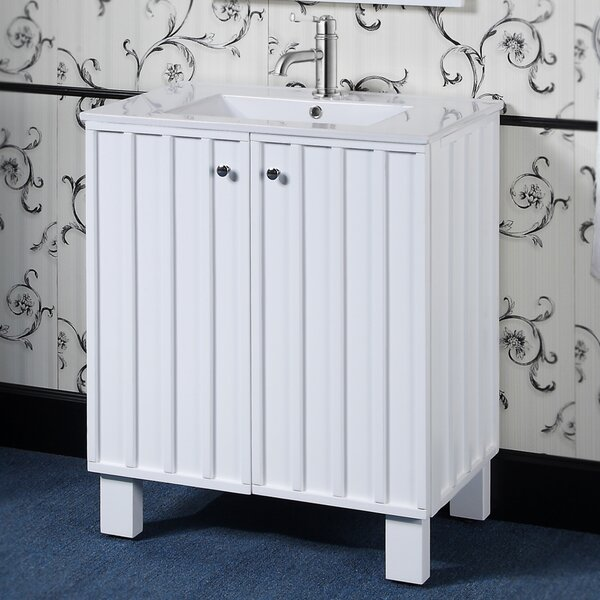 IN Series 30  Single Sink Door Bathroom Vanity Set by InFurniture