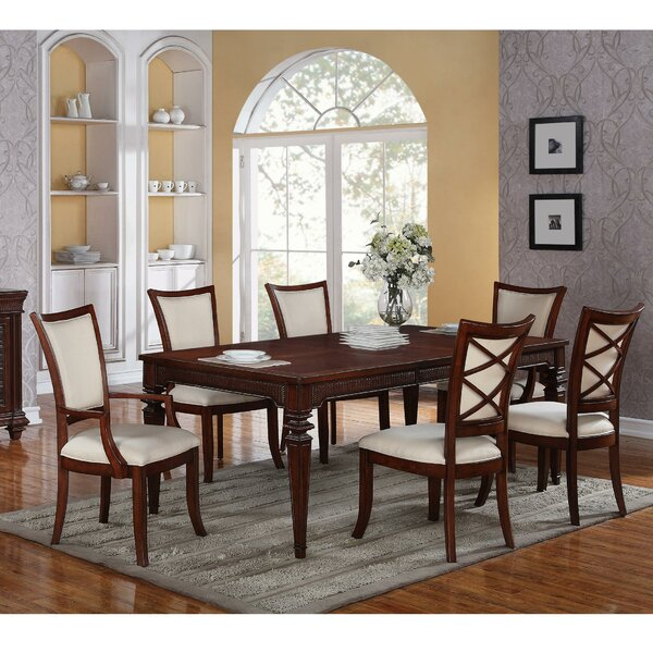 Tameka 7 Piece Dining Set by World Menagerie
