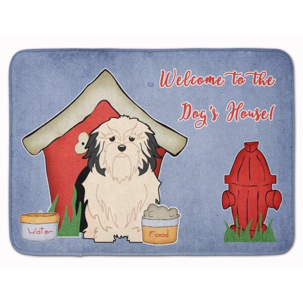 Dog House Lowchen Memory Foam Bath Rug