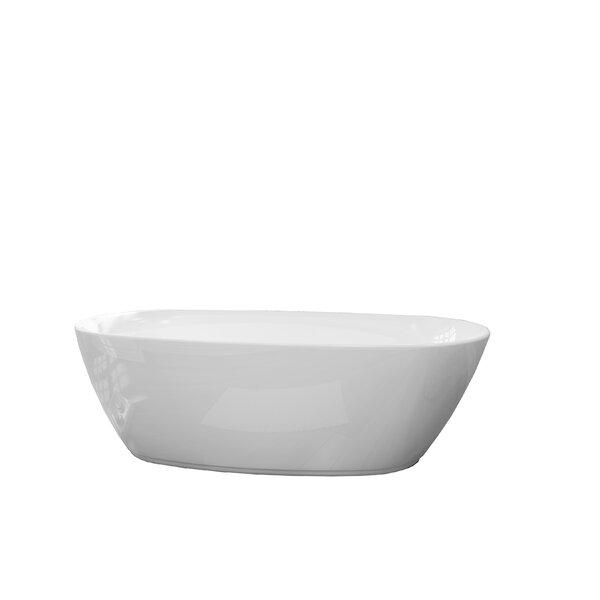 Sequana 71 x 21 Freestanding Soaking Bathtub by A&E Bath and Shower