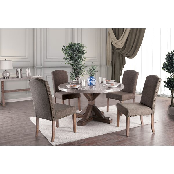 Abigail 5 Piece Dining Set by One Allium Way
