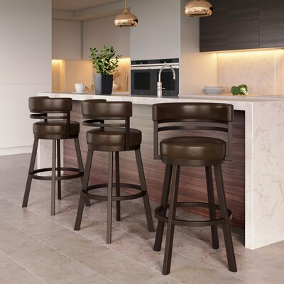 Counter 24 Quot 27 Quot Leather Bar Stools You Ll Love In 2020