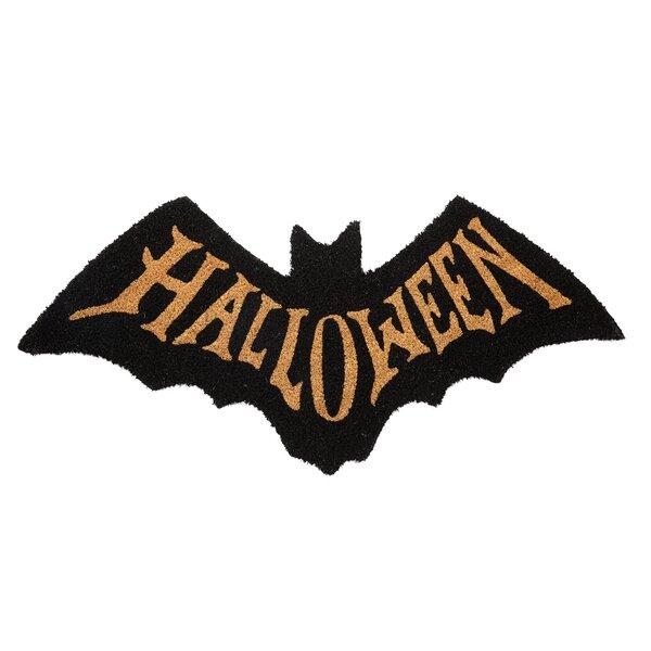 Halloween Bat Doormat by Mud Pie™