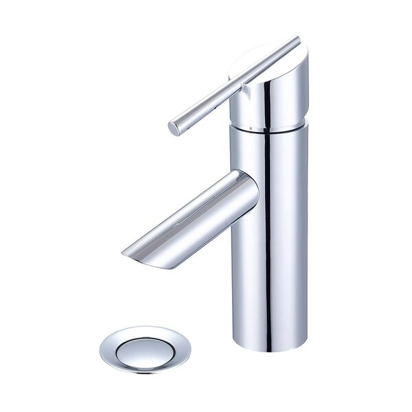 Lavatory Single Hole Handle Bathroom Faucet with Drain Assembly