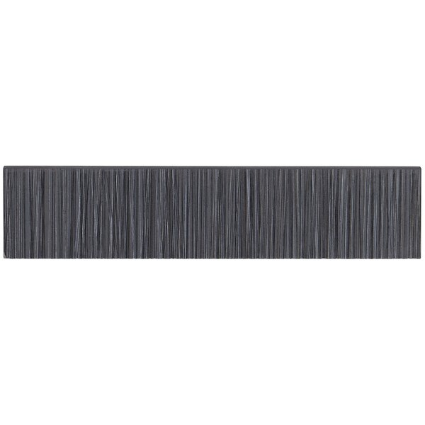 Fabrique 12 x 3 Porcelain Bullnose Tile Trim in No