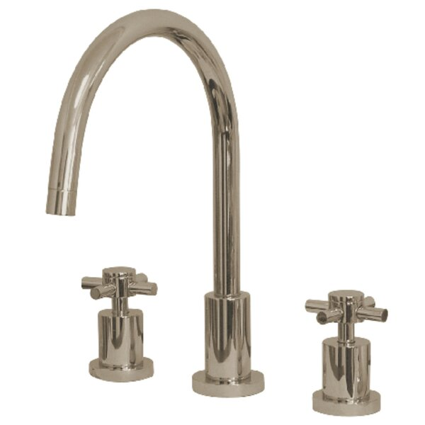 Concord Double Handle Kitchen Faucet By Kingston Brass