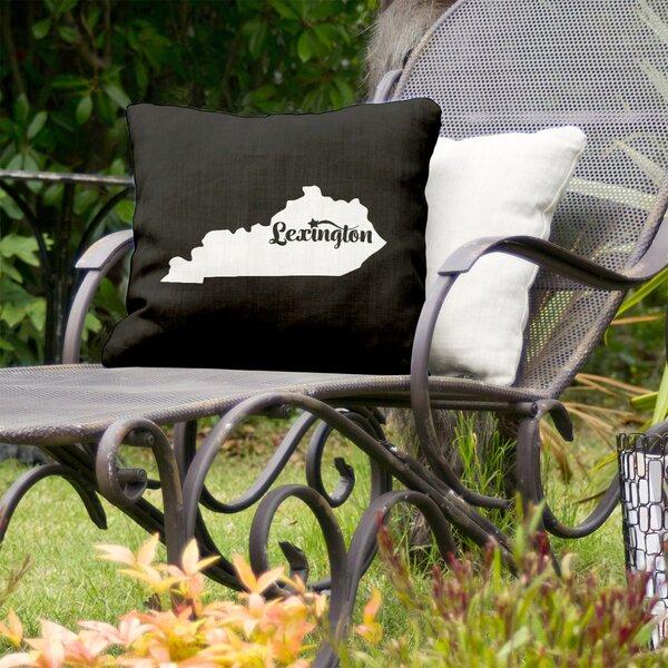 Kentucky Indoor/Outdoor Throw Pillow