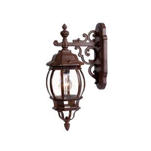 Check Prices Reva Outdoor Wall Lantern By Fleur De Lis Living