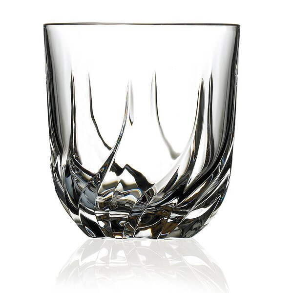 Trix RCR Crystal Double Old Fashioned Glass (Set of 6) by Lorren Home Trends