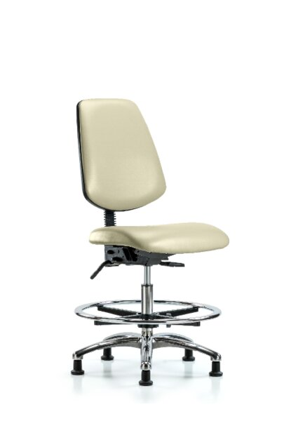 Aryana Bench Foot Ring Ergonomic Office Chair by Symple Stuff