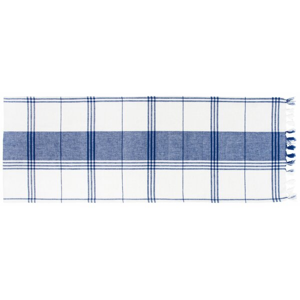 Hylton Plaid Table Runner (Set of 2) by Alcott Hill