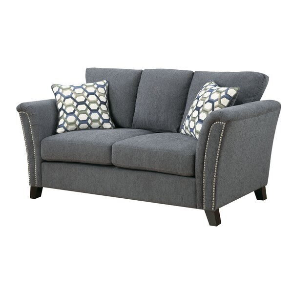 Alldredge Loveseat by Alcott Hill