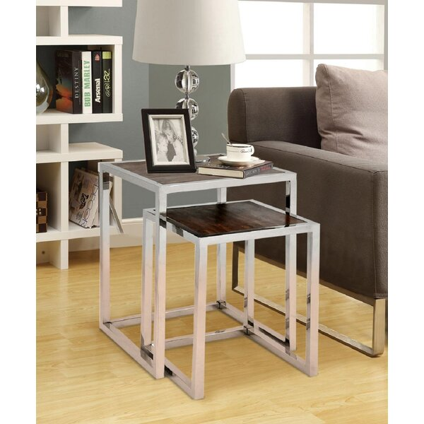 Painesville 2 Piece Nesting Tables by Brayden Studio