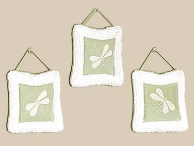 3 Piece Dragonfly Dreams Hanging Art Set by Sweet Jojo Designs