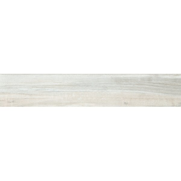 Pocono 6 x 24 Porcelain Wood Look/Field Tile in Smoke by Emser Tile