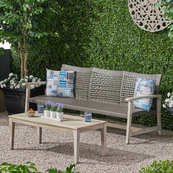 Striegel Outdoor 2 Piece Sofa Seating Group by Gracie Oaks