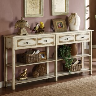 Compare prices Yann Antique Console Table ByAugust Grove