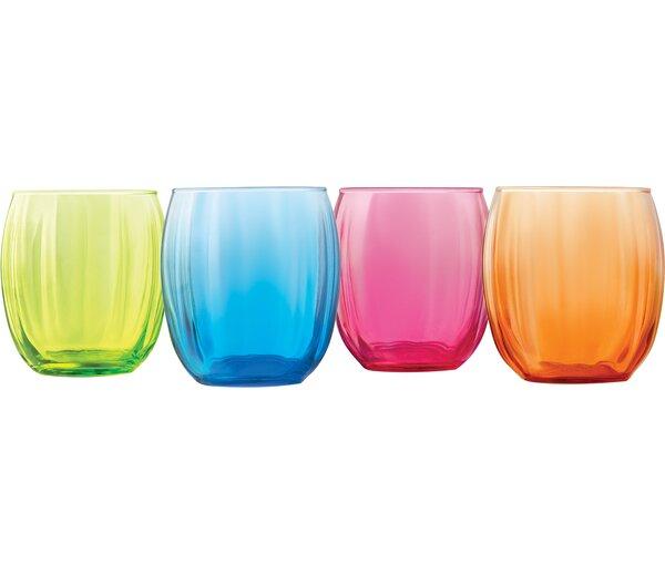 Samba 14 Oz. Double Old Fashioned Glass (Set of 4) by Libbey