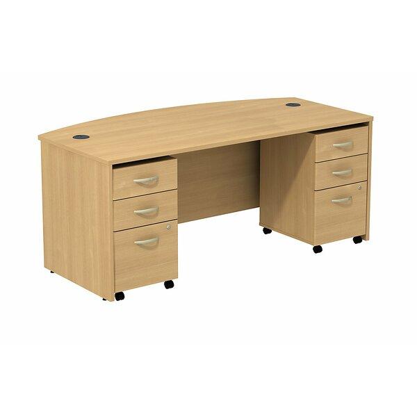 Series C Bow Executive Desk