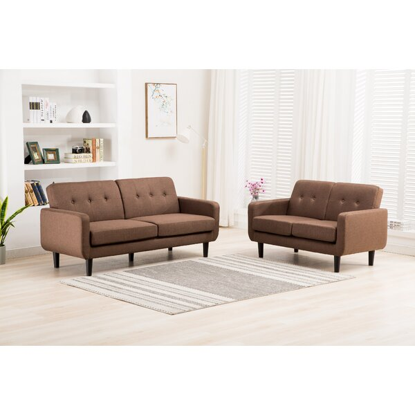 Busch 2 Piece Living Room Set by Ebern Designs