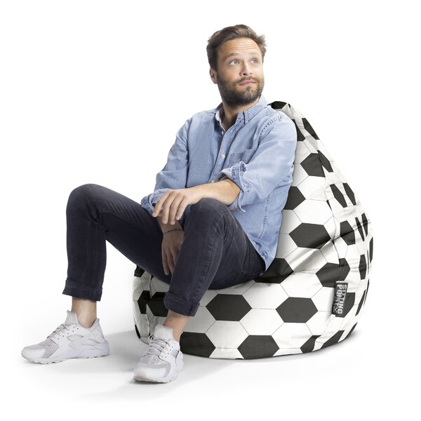 Fussball Bean Bag Chair by Zoomie Kids