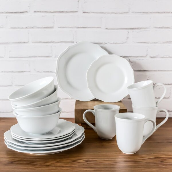 Tammie 16 Piece Dinnerware Set, Service for 4 by Greyleigh