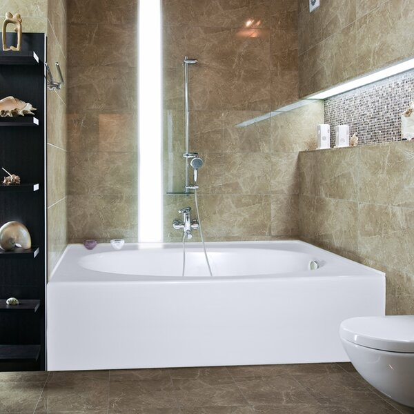 Builder Kona 60 x 42 Soaking Bathtub by Hydro Syst