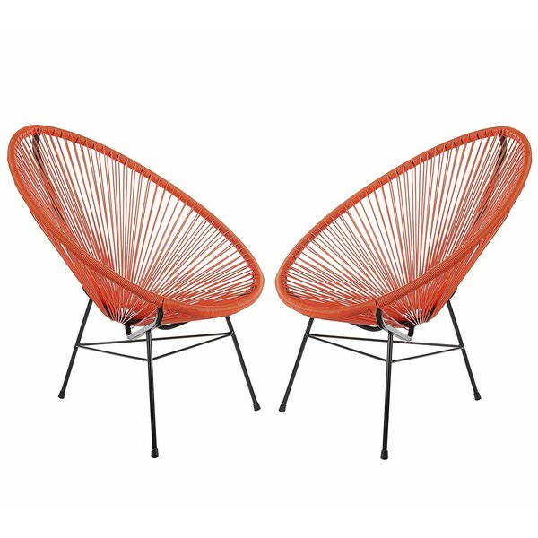Fiedler Patio Chair (Set of 2) by Ivy Bronx Ivy Bronx