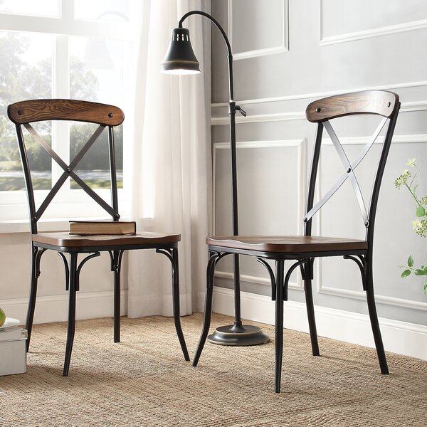 #1 Alpert Dining Chair (Set Of 2) By Williston Forge Herry Up