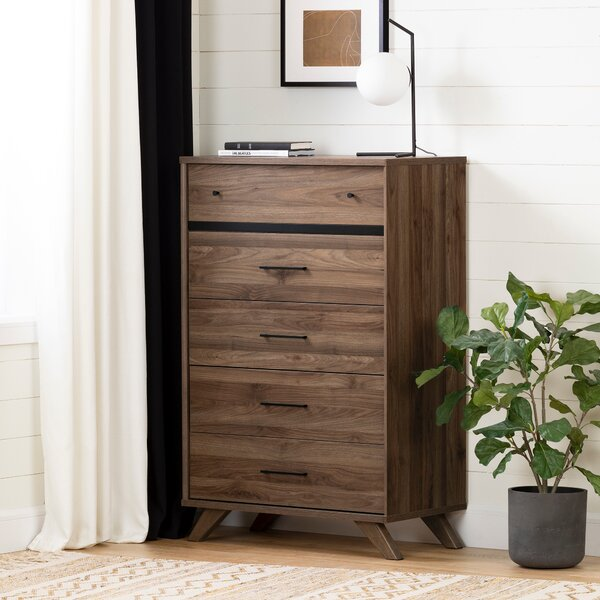 Timothy 5 Drawer Chest by Foundstone