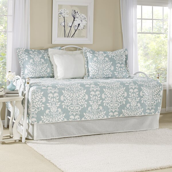 Rowland Breeze 5 Piece Twin Daybed Quilt Set by Laura Ashley Home by Laura Ashley Home