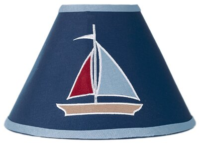 Nautical Nights 10 Cotton Empire Lamp Shade by Sweet Jojo Designs