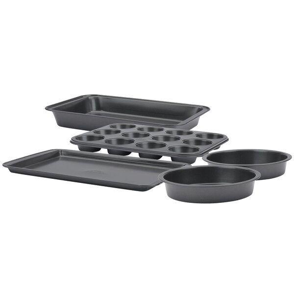 Non-Stick 5 Piece Bakeware Set by Betty Crocker