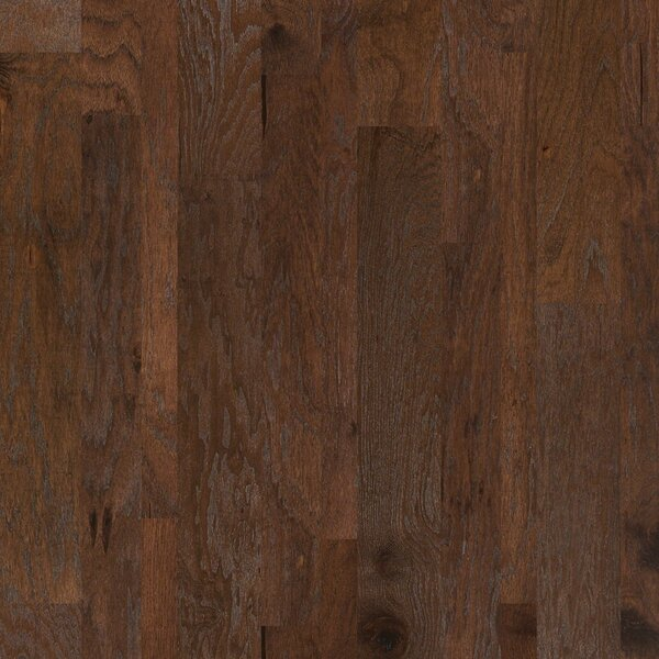 Hastings Random Width Engineered Hickory Hardwood Flooring in Pollock by Shaw Floors