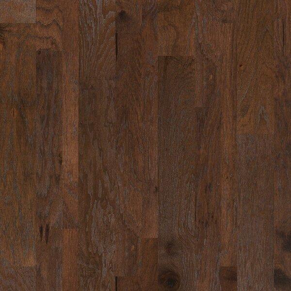 Hastings Random Width Engineered Hickory Hardwood Flooring in Pollock by Shaw Floors
