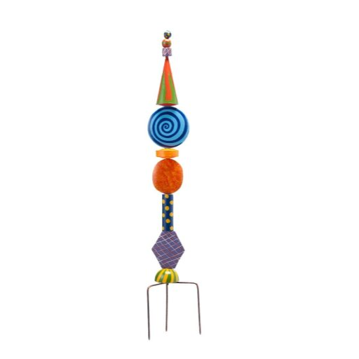 Metal Decorative Garden Stake by Wind & Weather