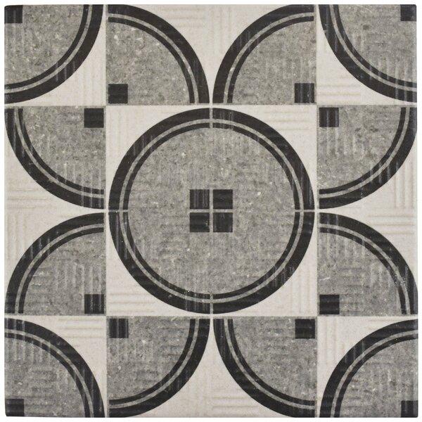 Region 6 x 6 Porcelain Field Tile in Light Gray by EliteTile