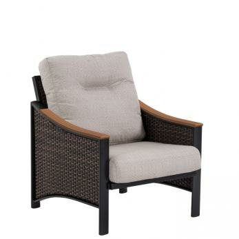 Brazo Woven Patio Chair with Cushion by Tropitone