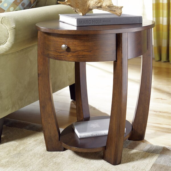 Hatfield Wood End Table by Bloomsbury Market