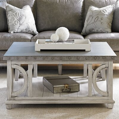Distressed Finish White Coffee Tables You Ll Love In 2019