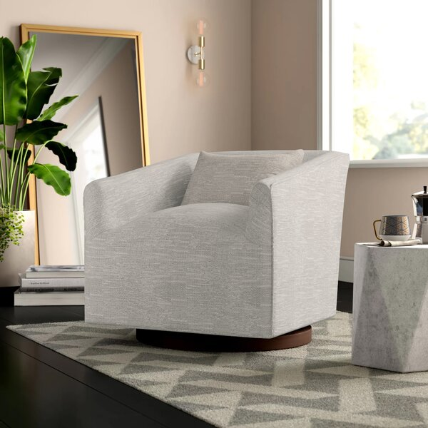 Stodola 19.3 inch Swivel Armchair by Mercury Row