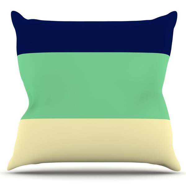 South Pacific by Catherine McDonald Outdoor Throw Pillow by East Urban Home