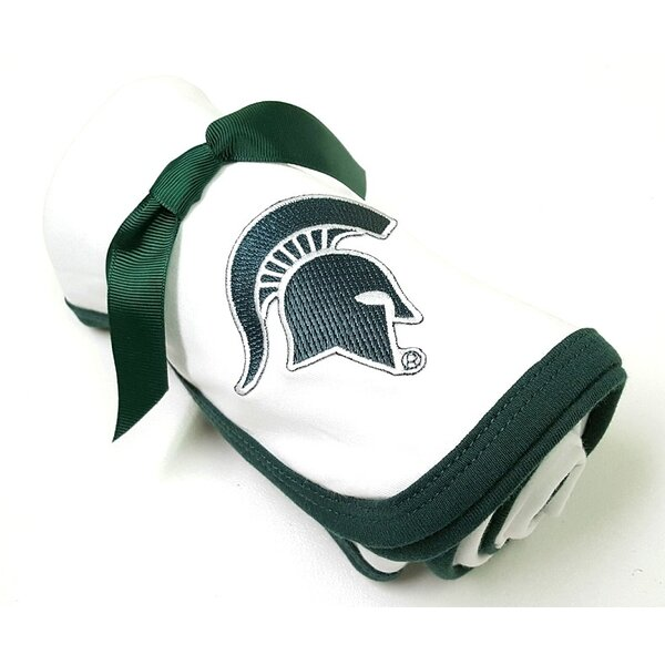Michigan State Spartans Baby Receiving Blanket by Future Tailgater