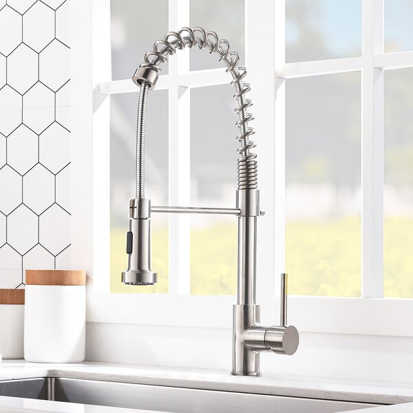 Pull Down Single Handle Kitchen Faucet By VCCUCINE