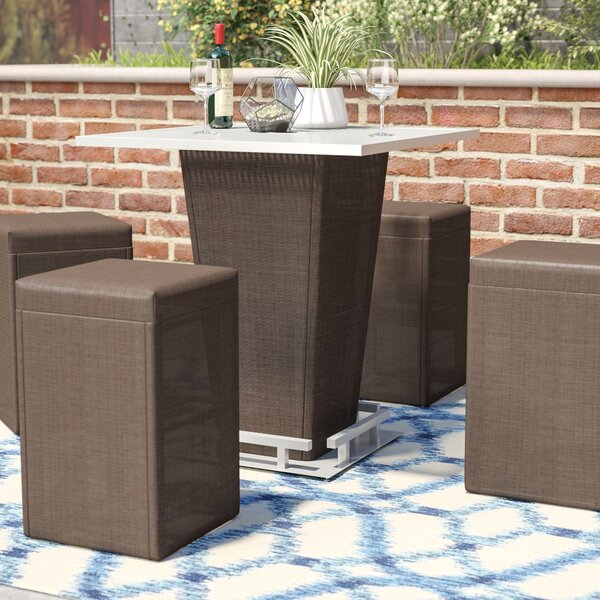 Bentley 5 Piece Bar Height Dining Set by Brayden S